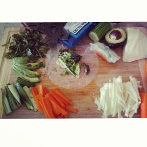 vegetarian spring rolls recipe naturopath london ontario